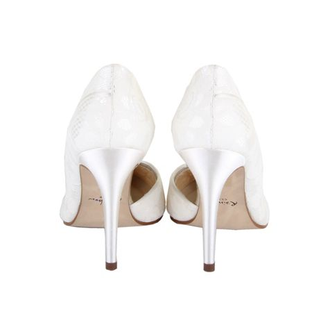 Rainbow Club Jessica satin court shoes
