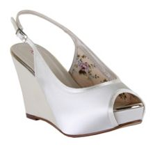 Rainbow Club Loretta platform wedge sling back shoes