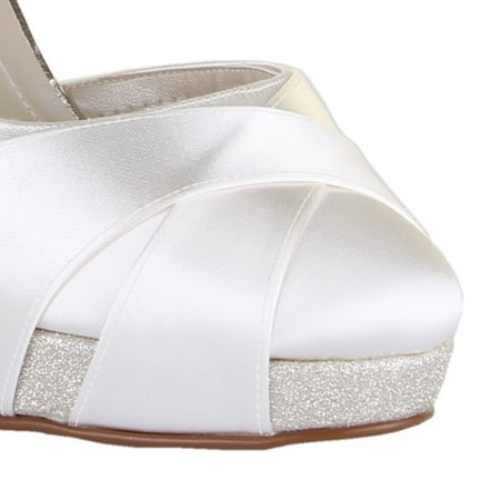Rainbow Club Kelis shimmer platform high heel shoes