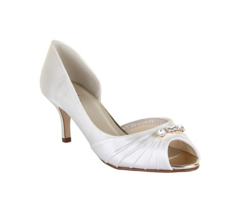 Rainbow Club Arabella vintage peep toe court shoes
