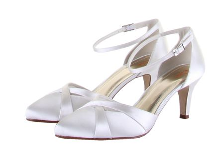 Rainbow Club Coconut ice open ankle strap heel shoes