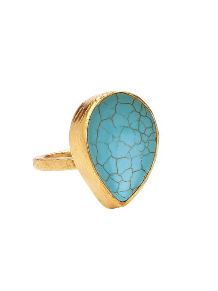 Ottoman Hands Small tear ring