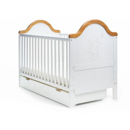 OBABY B is for Bear Nursery Set - White