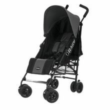 OBABY Atlas black/grey stroller - grey