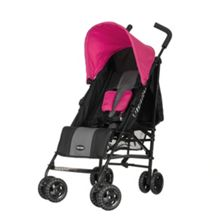 OBABY Atlas Black & Grey Stroller - Pink