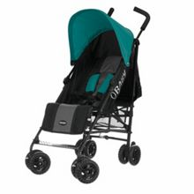 Atlas black/grey stroller - turquoise