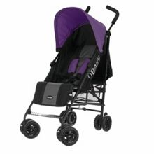 OBABY Atlas black/grey stroller - purple