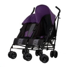 Apollo Twin Stroller - Purple