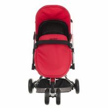 OBABY Chase pramette - black/red