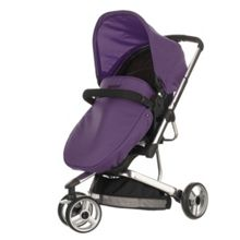 OBABY Chase pramette - black/purple