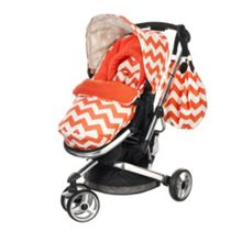 Chase Stroller - ZigZag Orange