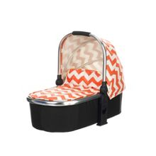 Chase Carrycot - ZigZag Orange