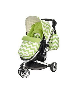 Chase Stroller - ZigZag Lime