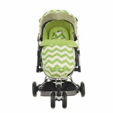 OBABY Chase Stroller - ZigZag Lime