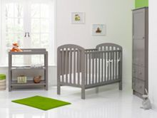 OBABY Lily Nursery Set - Taupe Grey