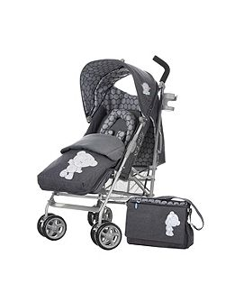 OBABY Stroller deluxe bundle - denim