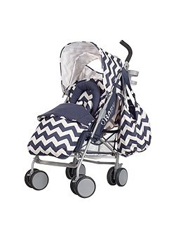 OBABY Metis plus stroller bundle - navy