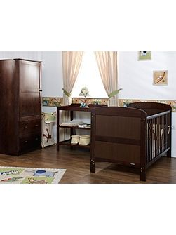 Grace Nursery Set - Walnut