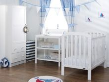 OBABY Lily Nursery Set - White