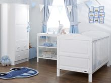 OBABY Beverley Nursery Set - White