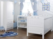 OBABY Lisa Nursery Set - White