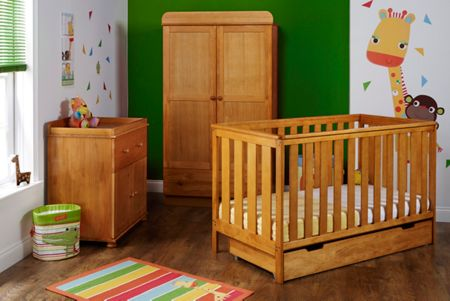 OBABY York Nursery Set - Pine