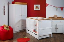 OBABY Newark Nursery Set - White