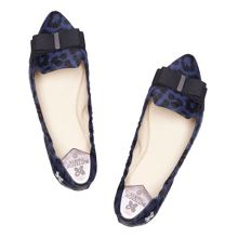 Butterfly Twists Jasmin pony skin ballerinas
