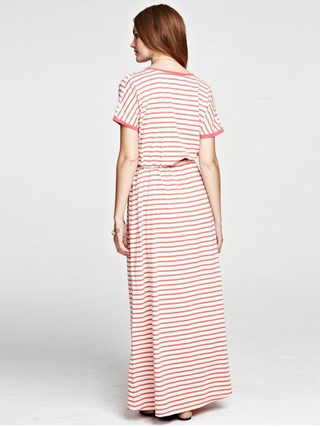 HotSquash Striped Maxi Dress in CoolFresh fabric