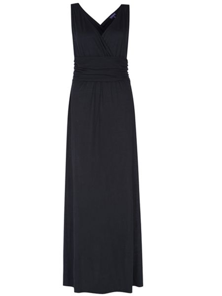 HotSquash V Neck Maxi Dress In CoolFresh Fabric