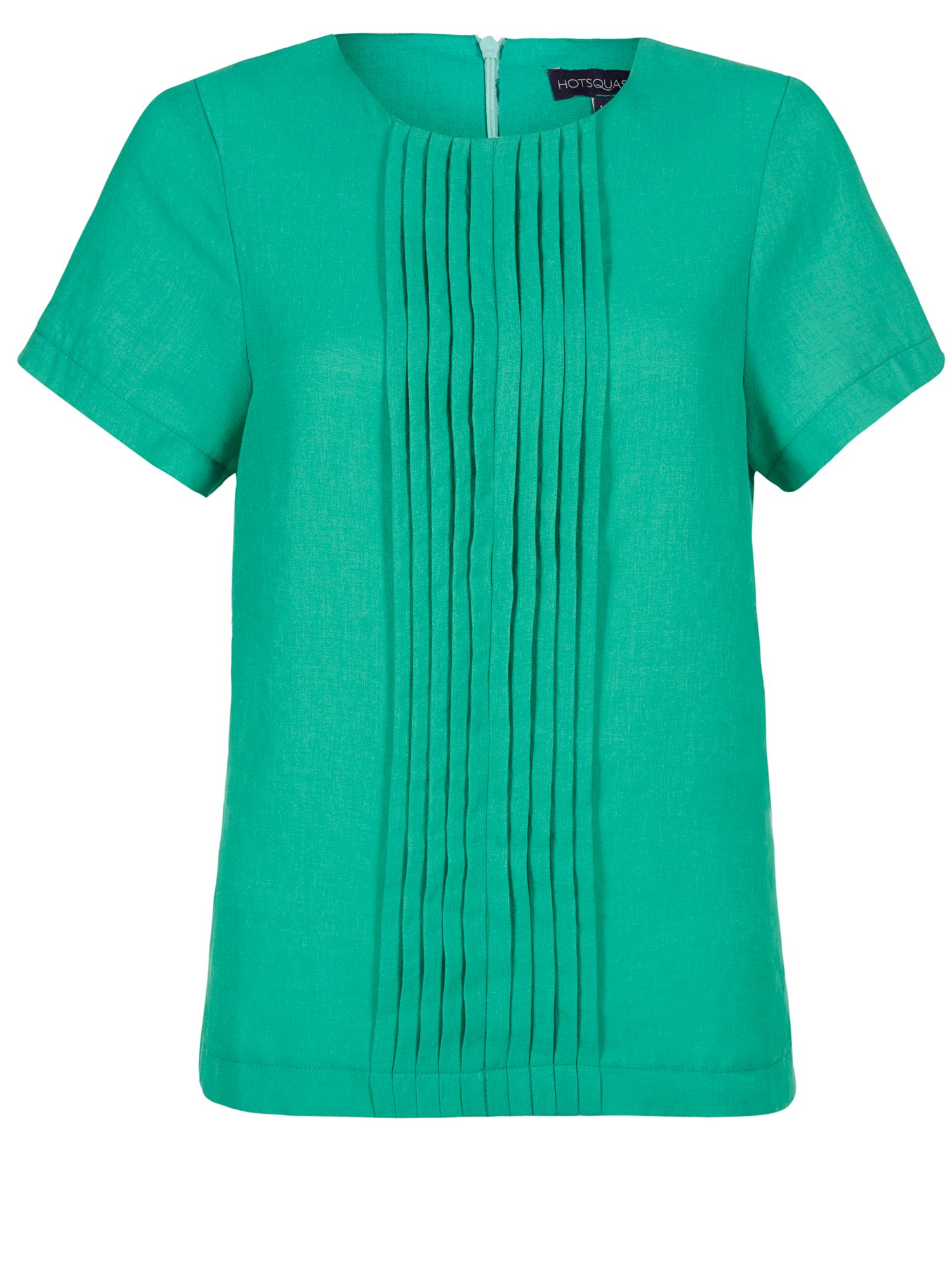 Crepe pintuck tee shirt in clever fabric