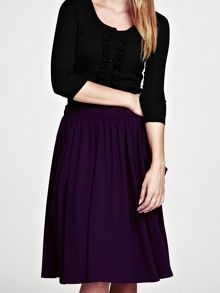HotSquash Floaty fit and flare skirt in thinheat