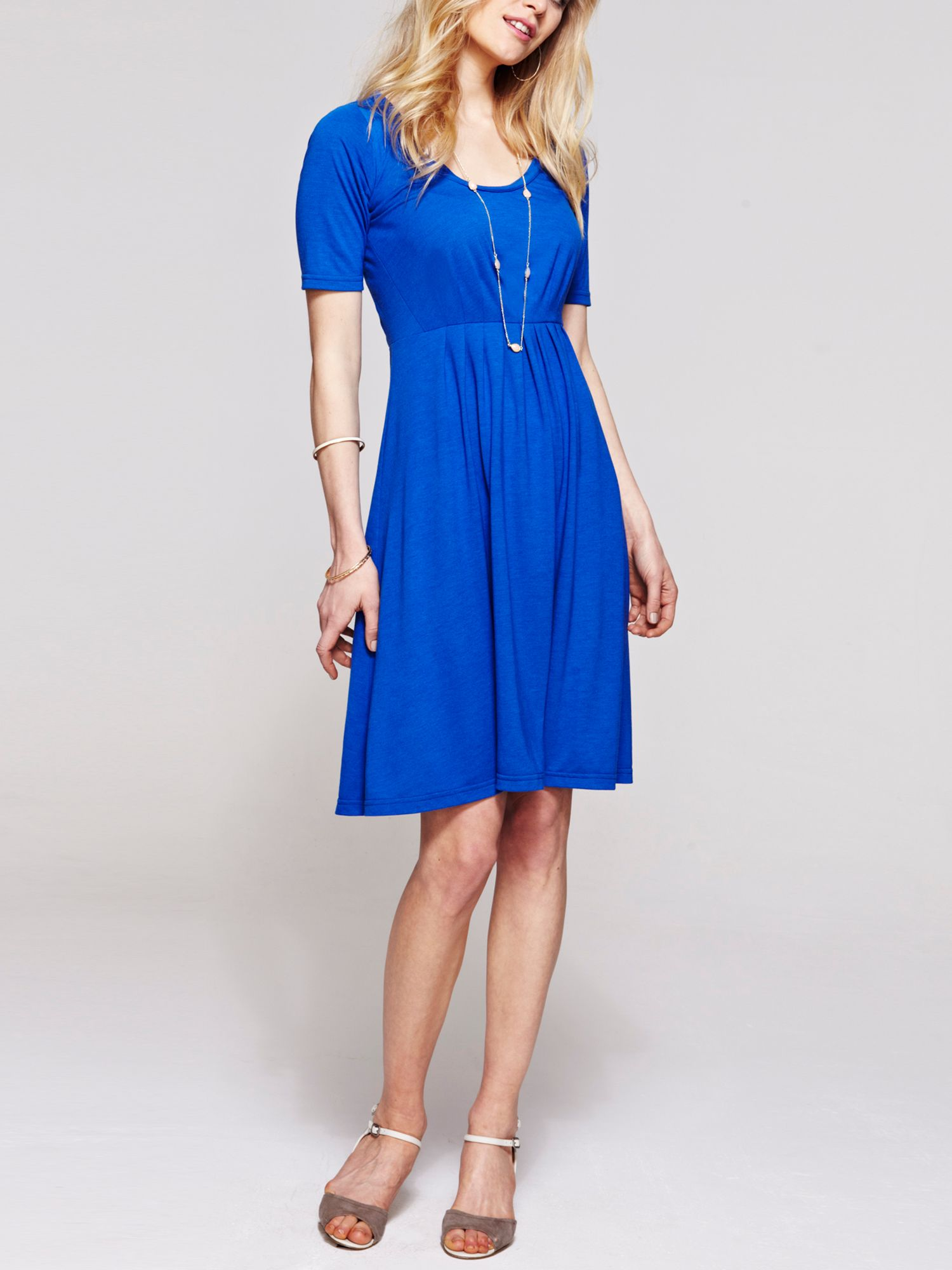 CoolFresh round neck short sleeved dress