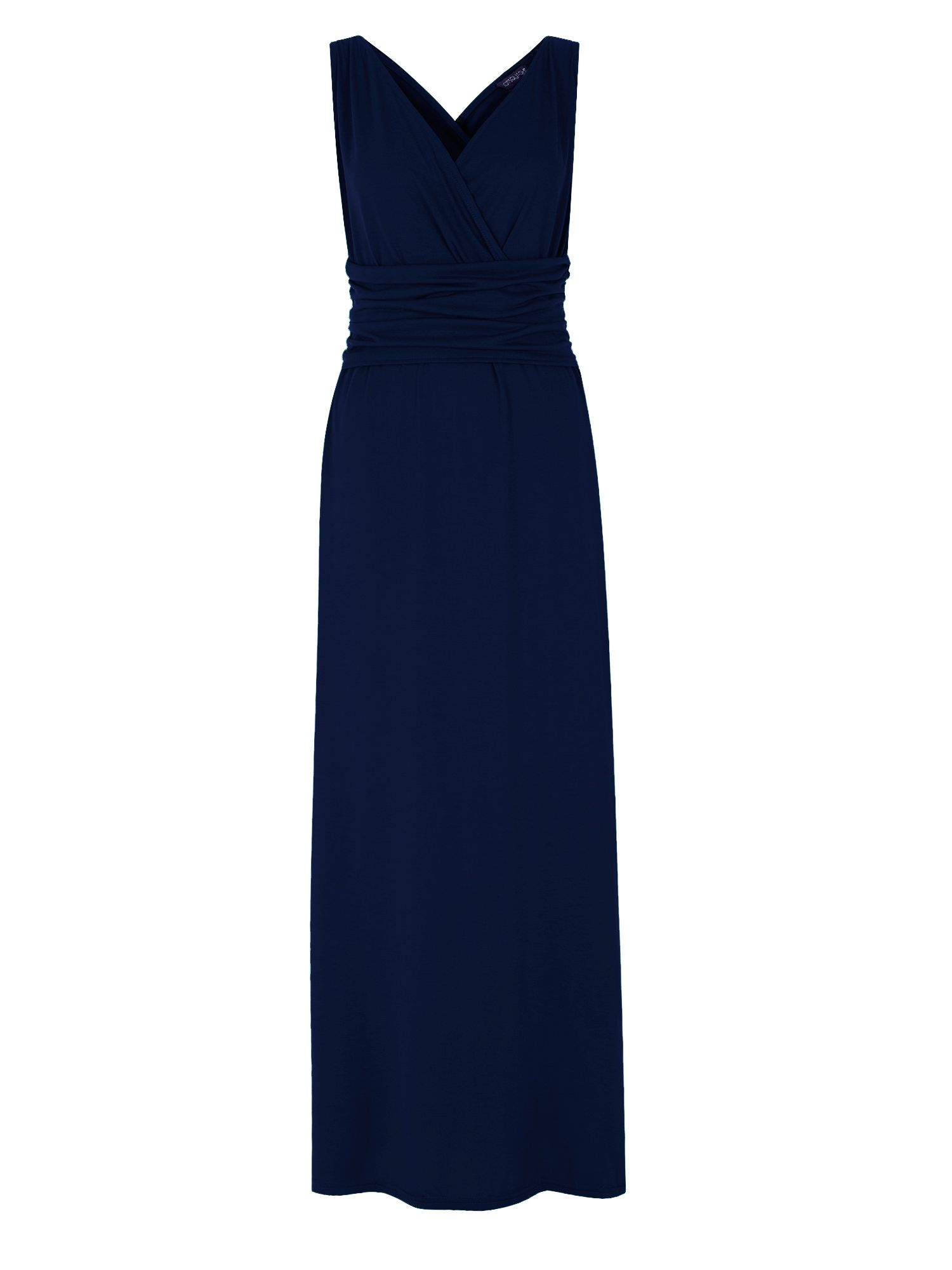 HotSquash V Neck Maxi Dress In CoolFresh Fabric, Cobalt