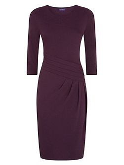 Long Sleeved Knee length Dress