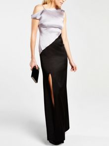 Long CleverSilk evening dress