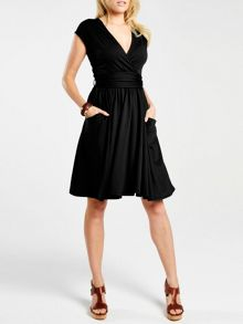 HotSquash Knee Lengh dress with false belt