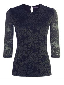 HotSquash Long sleeved lace top
