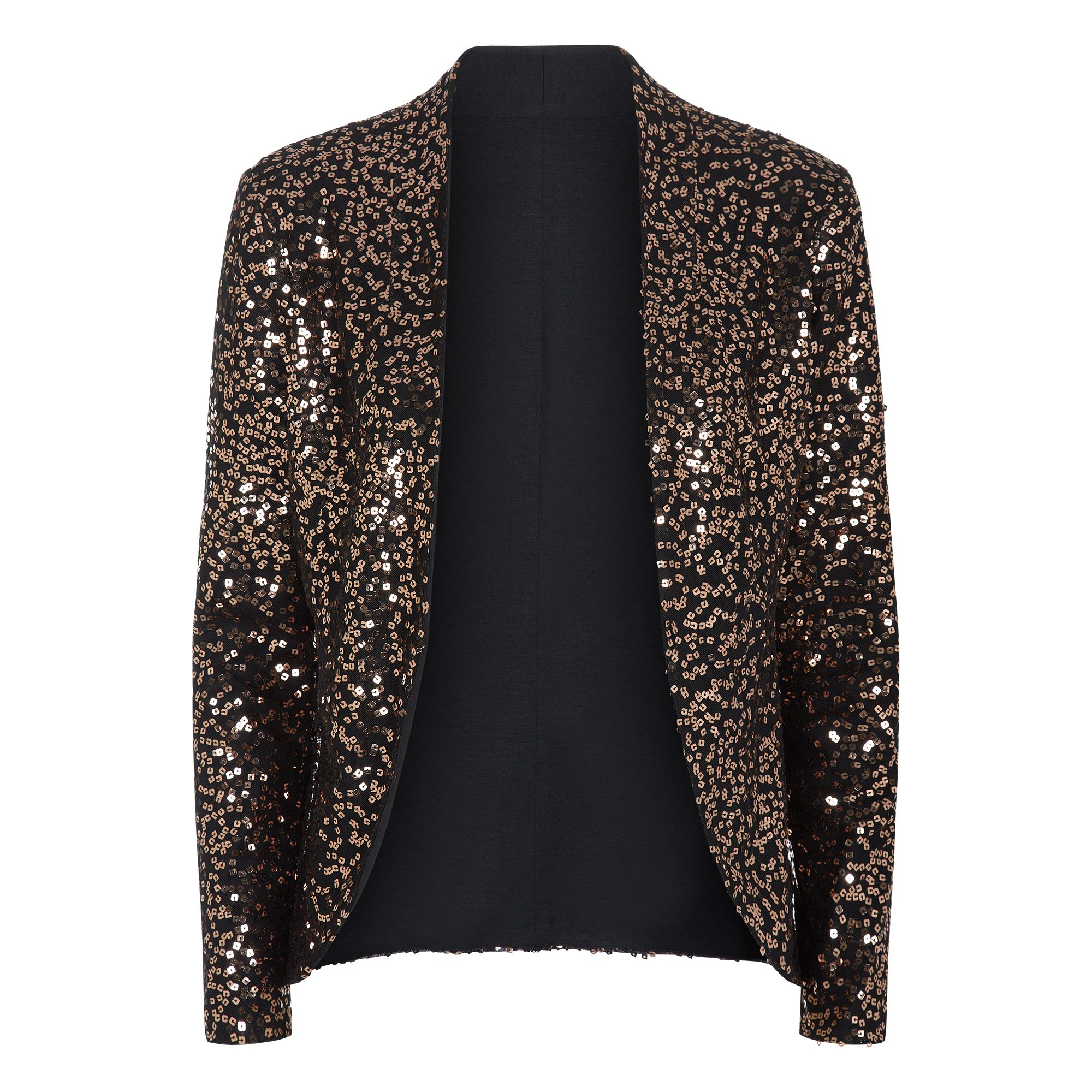 HotSquash Sequin jacket with thermal lining, Gold
