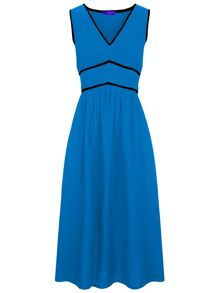 HotSquash Retro Crepe Sundress in CoolFresh Fabric