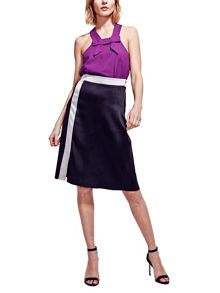 HotSquash Silky A Line Skirt in Clever Fabric