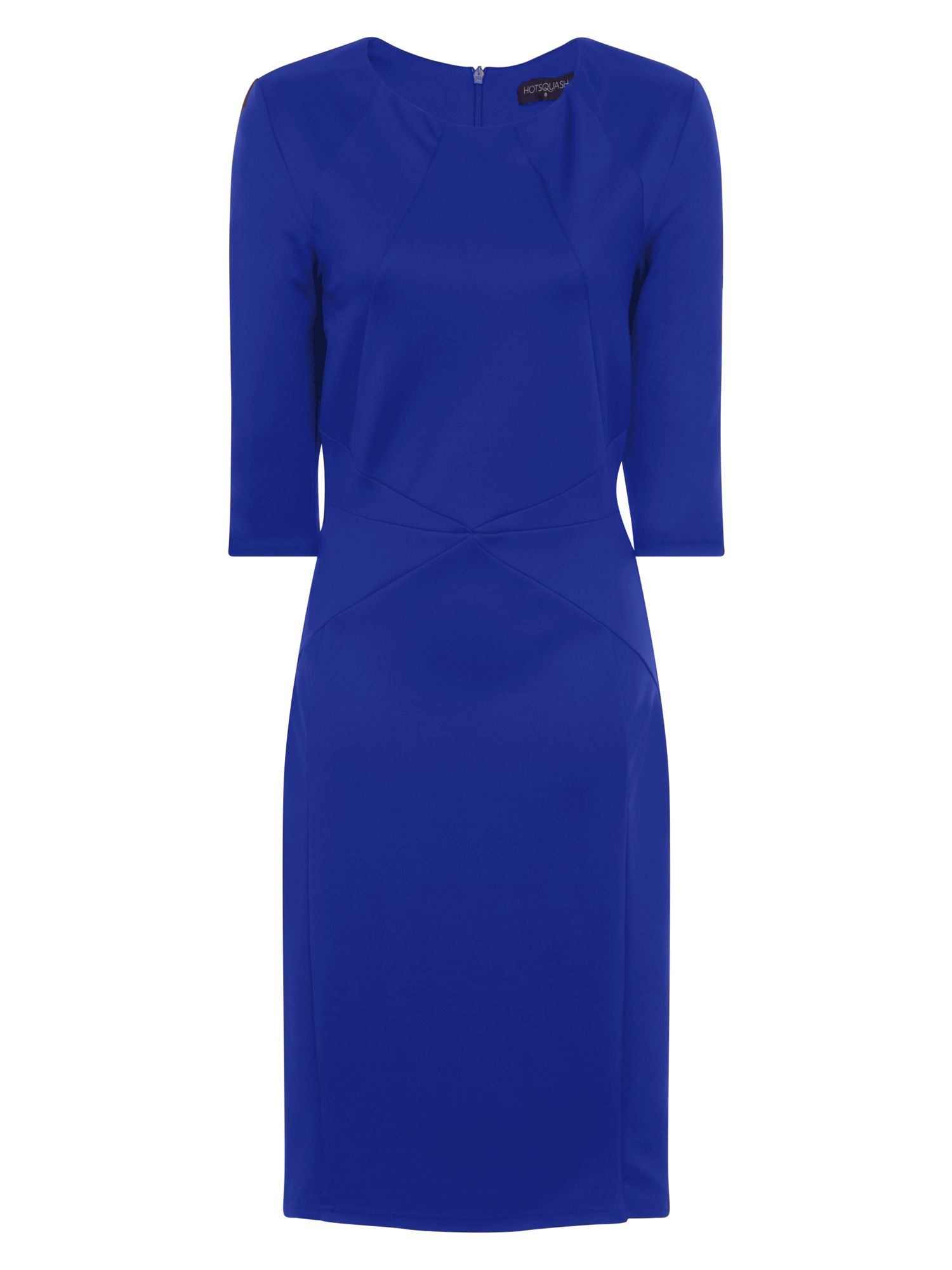 HotSquash The Pimlico Ponte Dress, Blue