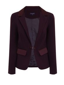 HotSquash Tuxedo Jacket with Silky Trim