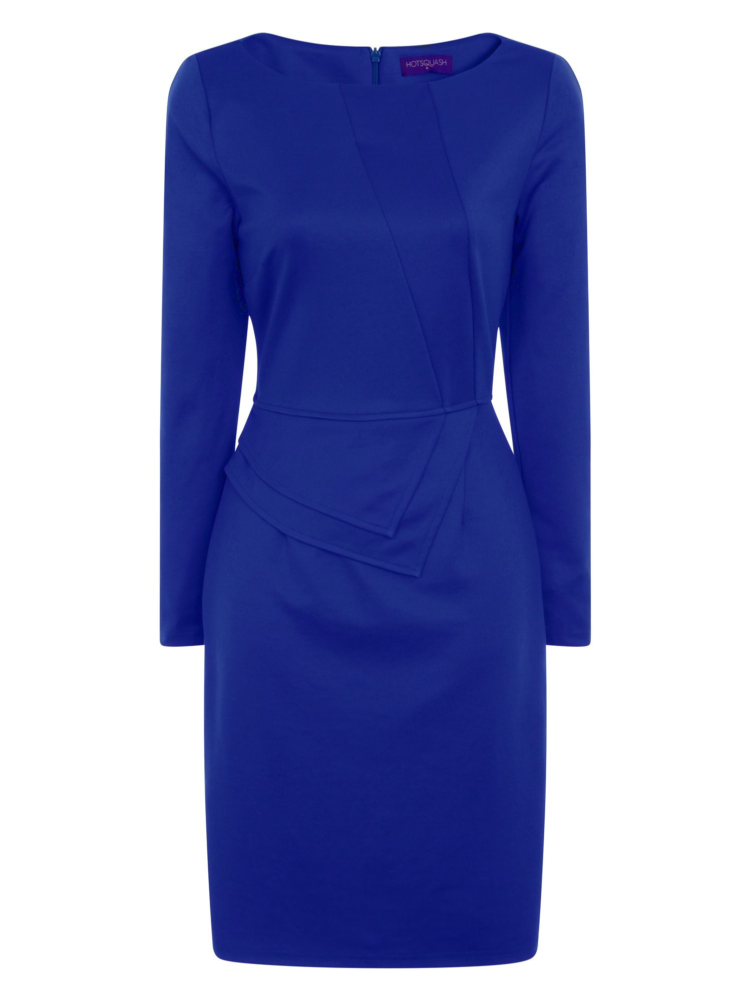 HotSquash The Fitzrovia Ponte Dress, Blue