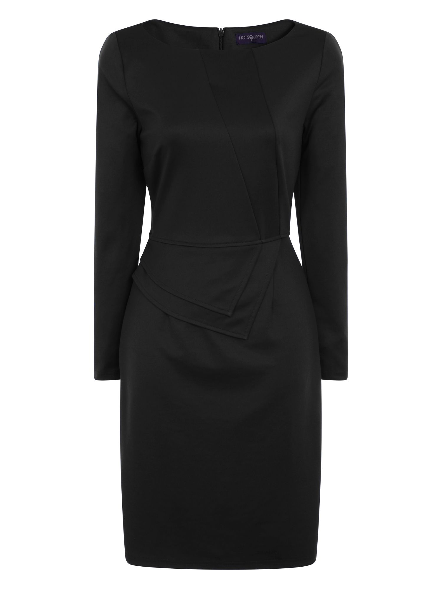 HotSquash The Fitzrovia Ponte Dress, Black