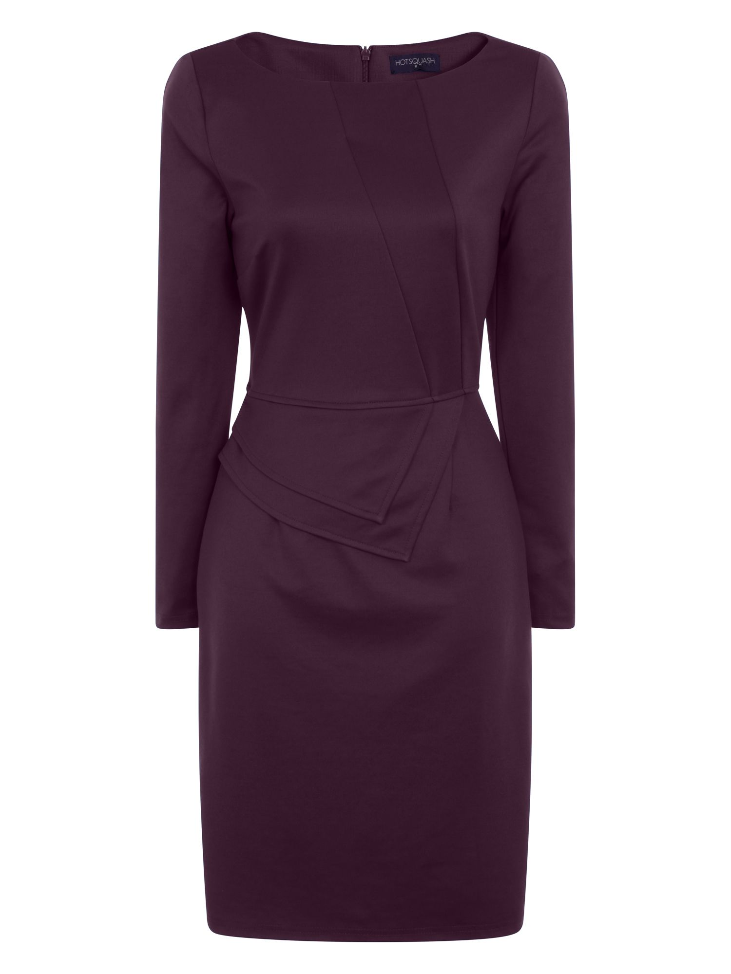 HotSquash The Fitzrovia Ponte Dress, Purple