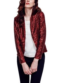 HotSquash Sequin jacket with thermal lining