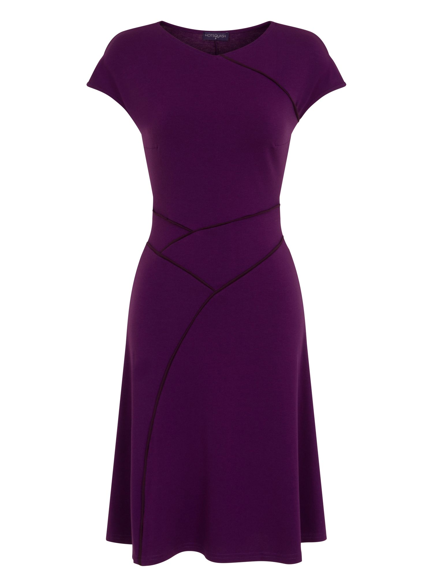 HotSquash Summer Dress in CoolFresh Fabric, Purple