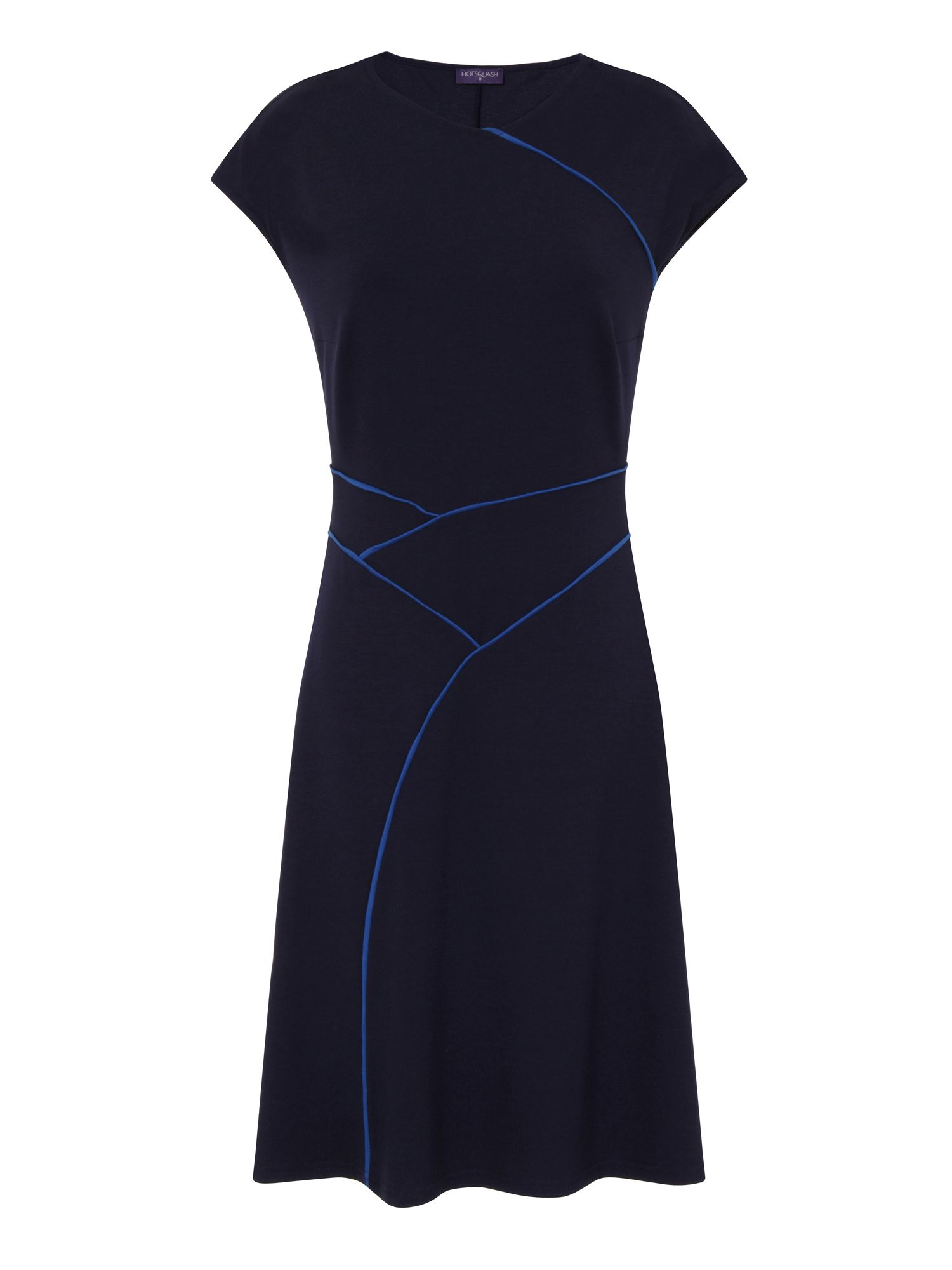 HotSquash Summer Dress in CoolFresh Fabric, Blue