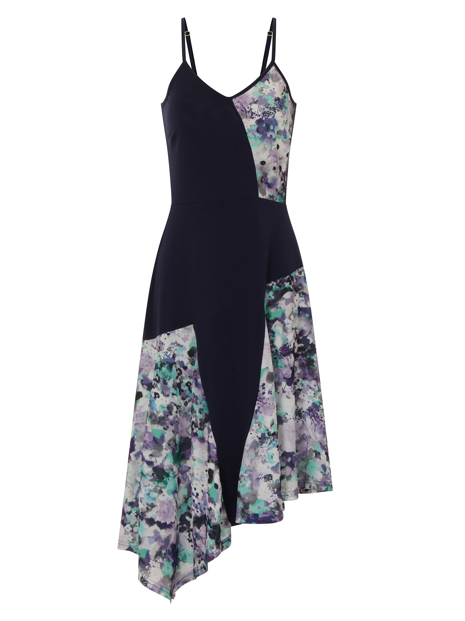 HotSquash Floral Dress in CoolFresh Fabric, Blue